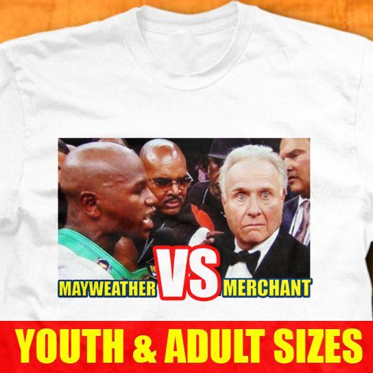 Jr VS Larry Merchant T Shirt Victor Ortiz Fight Funny Boxing